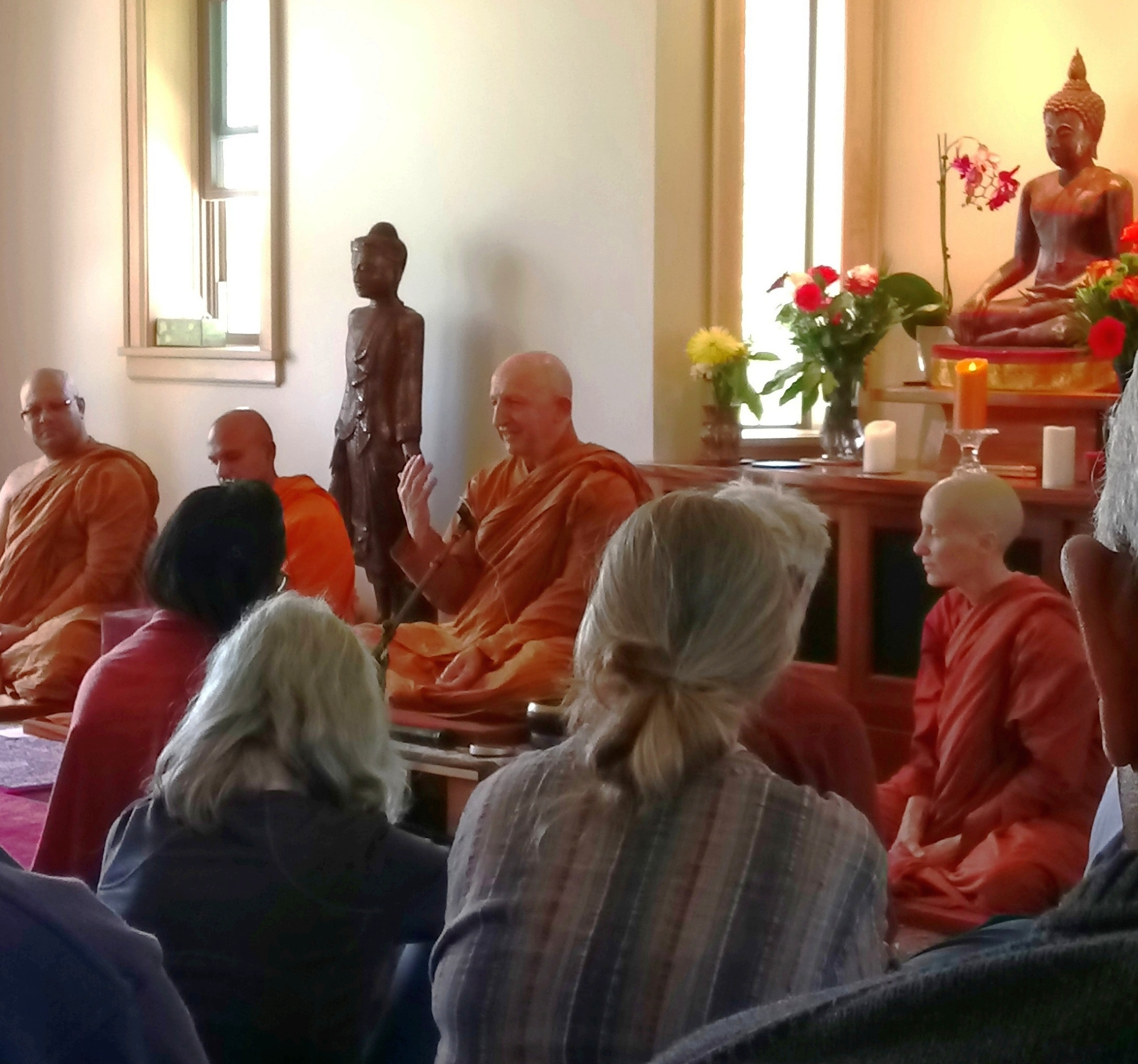Ajahn Amaro teaching at Sati Saraniya.JPG